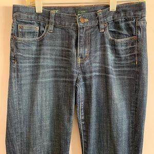J. Crew Bootcut Classic Blue Jeans